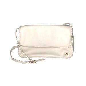 Etienne Aigner White Small Shoulder Bag